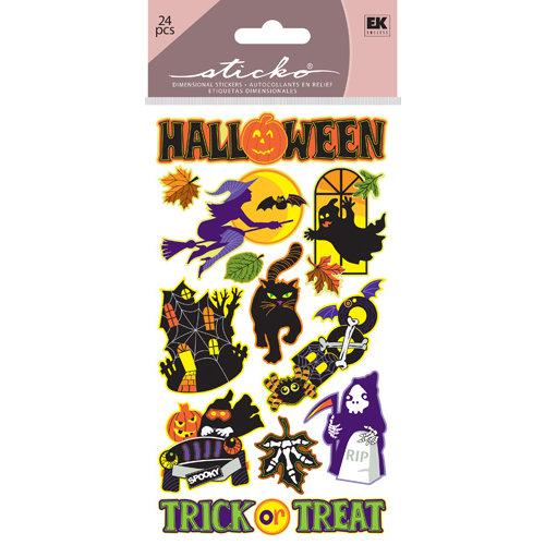 EK Success - Sticko Classic Stickers - Halloween - Spooky Halloween