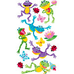 EK Success - Sticko Sparkler Stickers - Happy Frogs