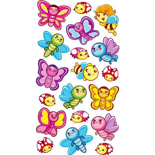 EK Success - Sticko Sparkler Stickers - Butterfly Friends