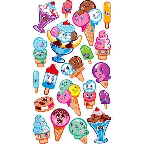 EK Success - Sticko Sparkler Stickers - Ice Cream Friends