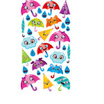 EK Success - Sticko Sparkler Stickers - Umbrella Friends