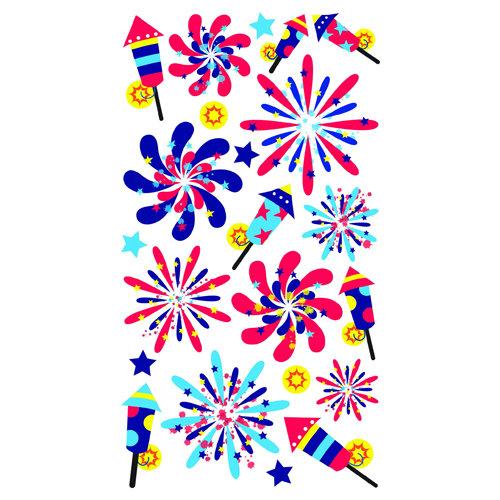 EK Success - Sticko Sparkler Stickers - Fireworks Show