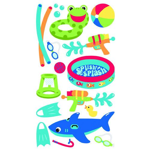 EK Success - Sticko Sparkler Stickers - Kids Summer Fun