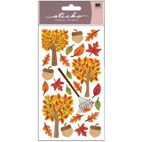 EK Success - Sticko Sparkler Stickers - Time for Fall