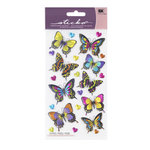 EK Success - Sticko Sparkler Stickers - Dancing Butterflies