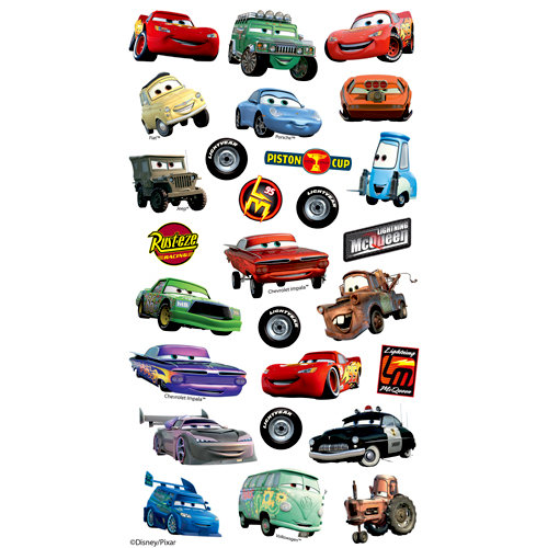 EK Success - Disney Collection - Classic Stickers - Cars