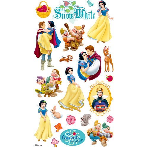EK Success - Disney Collection - Classic Stickers - Snow White