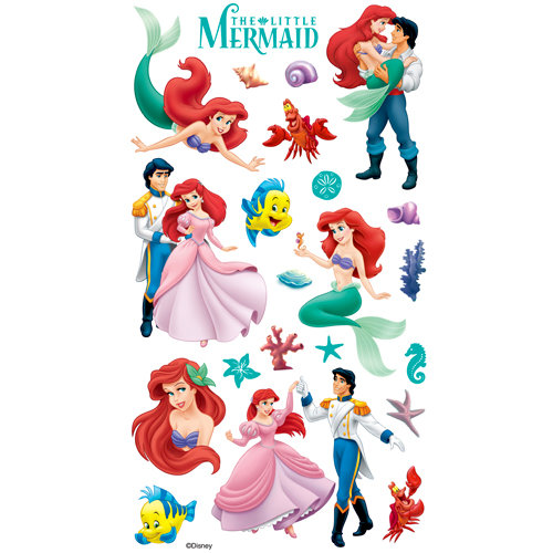 EK Success - Disney Collection - Classic Stickers - The Little Mermaid