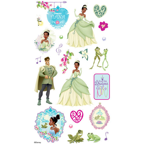 EK Success - Disney Collection - Classic Stickers - Princess and the Frog