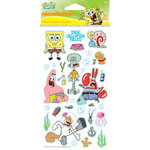 EK Success - Nickelodeon Collection - Classic Stickers - SpongeBob Group