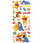 EK Success - Disney Collection - Large Classic Stickers - Pooh and Friends