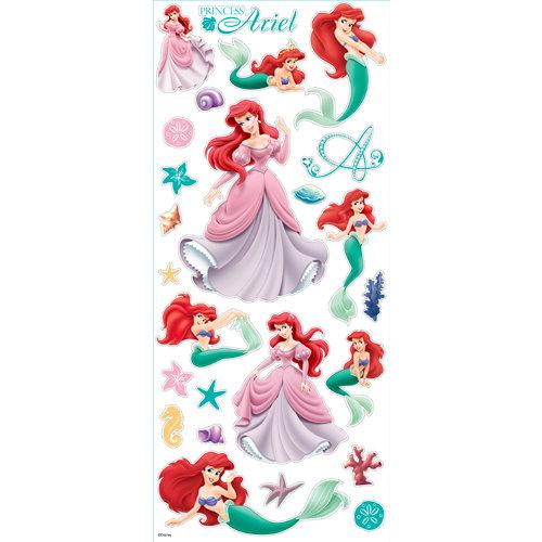 EK Success - Disney Collection - Large Classic Stickers - Princess Ariel