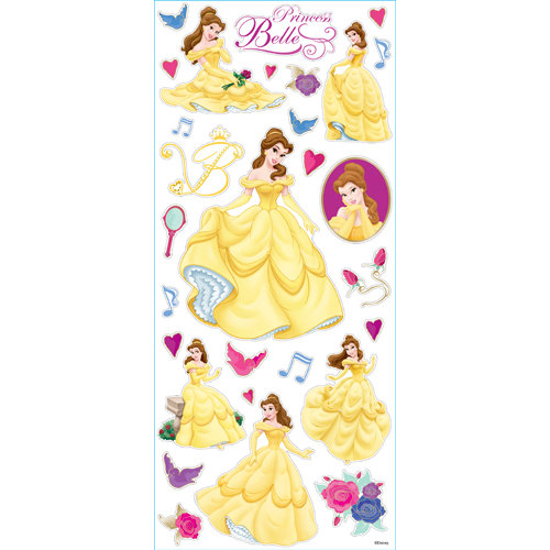 EK Success - Disney Collection - Large Classic Stickers - Princess Belle