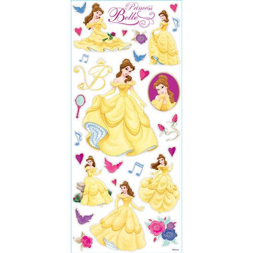 EK Success - Disney Collection - Large Classic Stickers - Princess Belle