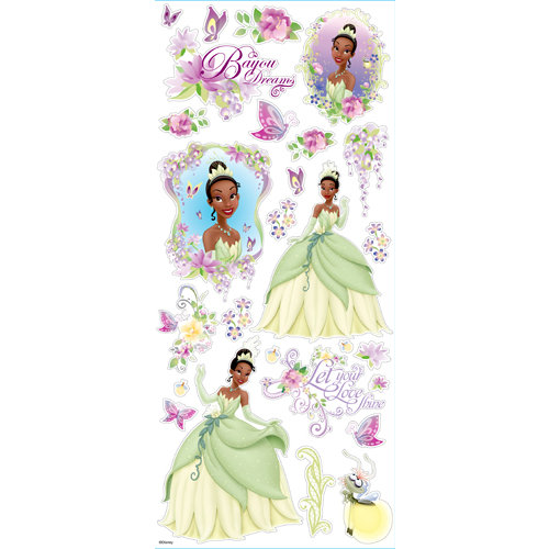 EK Success - Disney Collection - Large Classic Stickers - Princess Tiana