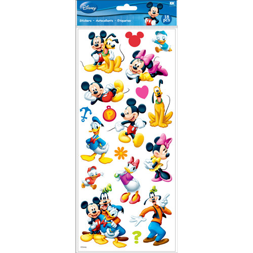 EK Success - Disney Collection - Large Classic Stickers - Mickey and Friends