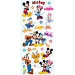 EK Success - Disney Collection - Large Classic Stickers - Mickey and Friends Star