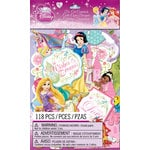 EK Success - Disney Collection - Princess - Die Cut Cardstock Pieces with Glitter Accents