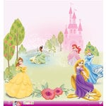 EK Success - Disney Collection - Princess - 12 x 12 Paper with Glitter Accents - Multi Princess