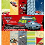 EK Success - Disney Collection - Cars 2 - 12 x 12 Specialty Paper Pad