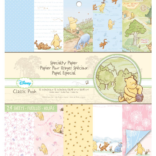 EK Success - Disney Collection - Classic Pooh - 12 x 12 Specialty Paper Pad