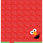 EK Success - Sesame Street Collection - 12 x 12 Paper - Elmo Furry