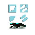 EK Success - Paper Shapers - Slim Profile - Mini Punch Set - 2 Pieces - Photo Anchors