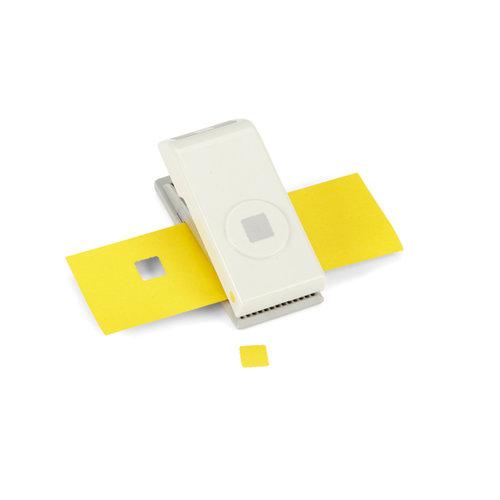 EK Success - EK Tools - Medium Punch - 1/2 Inch Scallop Square