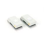 EK Success - Paper Shapers - Slim Profile - Mini Punch Set - 2 Pieces - Retro Flower