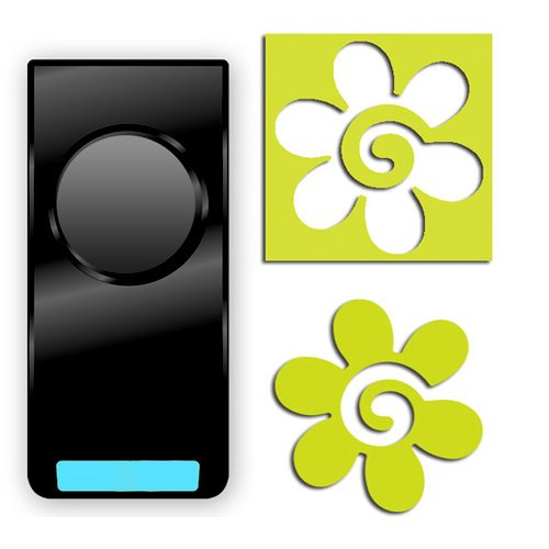 EK Success - Paper Shapers - Slim Profile - Medium Punch - Swirly Flower