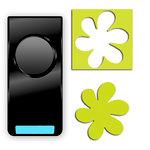 EK Success - Paper Shapers - Slim Profile - Medium Punch - Wavy Flower, CLEARANCE