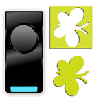 EK Success - Paper Shapers - Slim Profile - Medium Punch - Butterfly