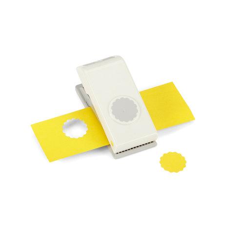 EK Success - EK Tools - Medium Punch - 1 Inch Scallop Circle