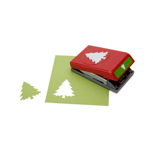 EK Success - Paper Shapers - Slim Profile - Large Punch - Christmas Tree, BRAND NEW - click to enlarge