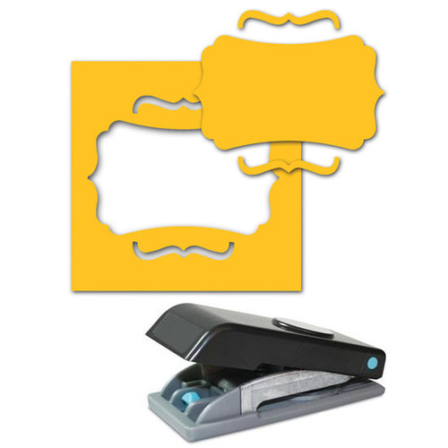 EK Success - Paper Shapers - Slim Profile - Large Punch - Journal Plate and Bracket, CLEARANCE