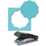 EK Success - Paper Shapers - Slim Profile - Large Punch - Wavy Circle, CLEARANCE