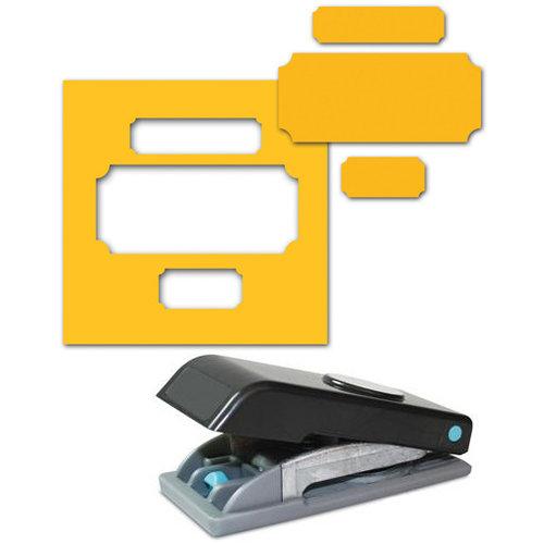 EK Success - Paper Shapers - Slim Profile - Large Punch - Photo Labels