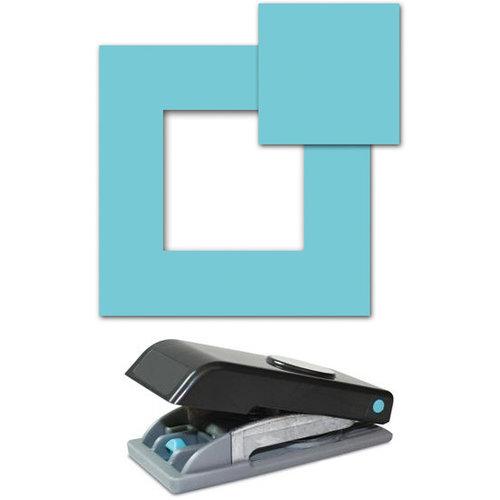EK Success - Paper Shapers - Slim Profile - Large Punch - 1.5 Inch Square