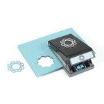 EK Success - Paper Shapers - Slim Profile - Large Punch - Scallop Frame