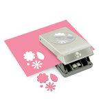 EK Success - Paper Shapers - Slim Profile - Large Punch - Flowers and Leaves