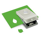 EK Success - Paper Shapers - Slim Profile - Nesting Punch - Green Leaf