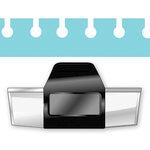EK Success - Paper Shapers - Slim Profile - Edger Punch - Round Binding Edge