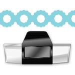 EK Success - Paper Shapers - Slim Profile - Edger Punch - Scalloped Circle Chain