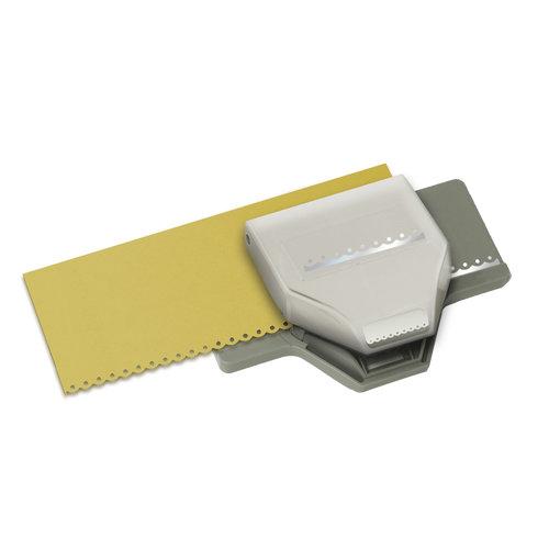 EK Success - Paper Shapers - Slim Profile - Edger Punch - Dotted Scallop