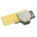 EK Success - Paper Shapers - Slim Profile - Edger Punch - Swiss Cheese