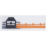 EK Success - Paper Shapers - Slim Profile - Large Edger Punch - Pumpkin Flourish Chain