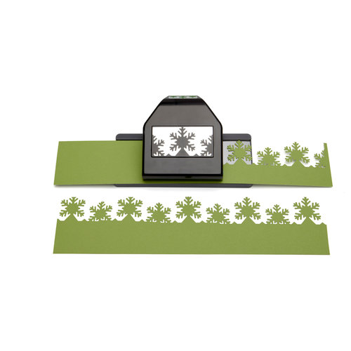 EK Success - Paper Shapers - Slim Profile - Large Edger Punch - Snowflake, BRAND NEW - click to enlarge