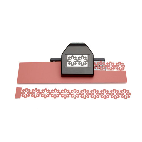 EK Success - Paper Shapers - Slim Profile - Large Edger Punch - Floral Chain, BRAND NEW - click to enlarge