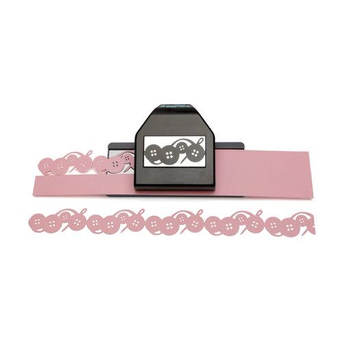 EK Success - Paper Shapers - Slim Profile - Large Edger Punch - Button Chain