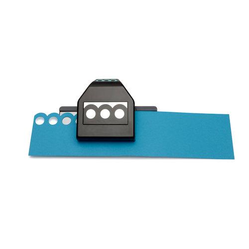 EK Success - Paper Shapers - Slim Profile - Large Edger Punch - Circles